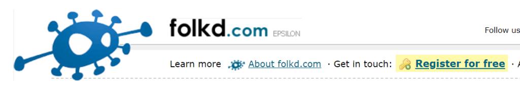 Folked website