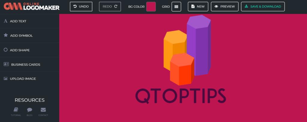 OnlineLogoMaker Logo sample