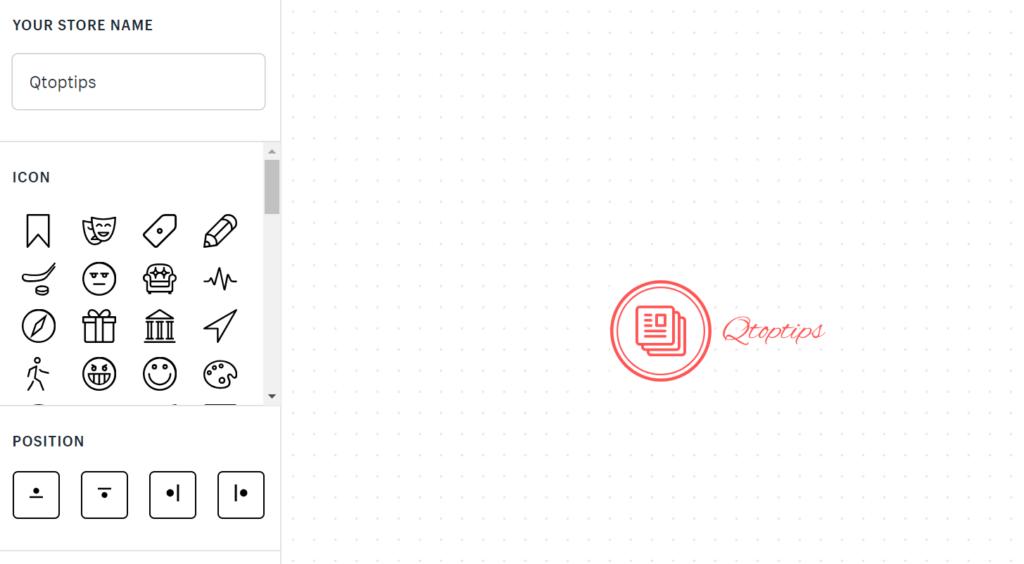Shopify Logo Sample