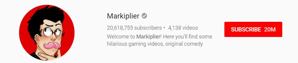 Markiplier YouTube Channel