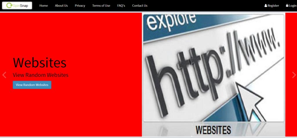 SpinSnap website