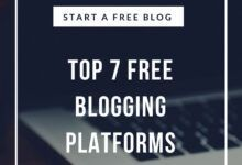 Photo of Top 7 Free Blogging Platforms – Start a Free Blog