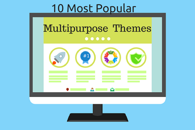 Photo of 10 Most Popular Multipurpose WordPress Themes