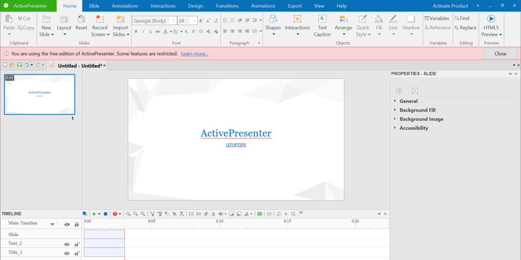 ActivePresenter 7