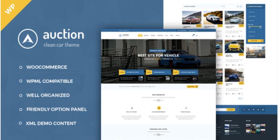Auction WordPress Theme