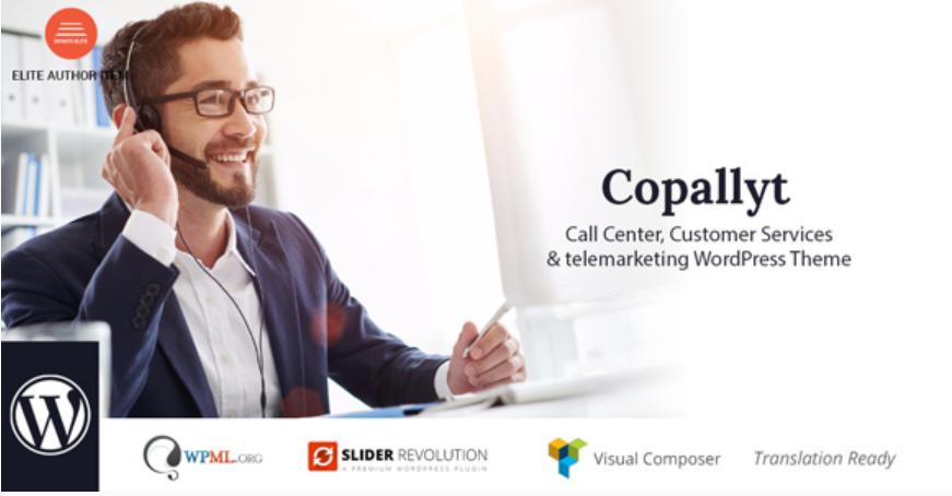 Copallyt WordPress Theme