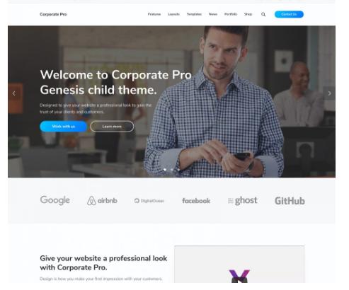 CorporatePro WordPress Theme