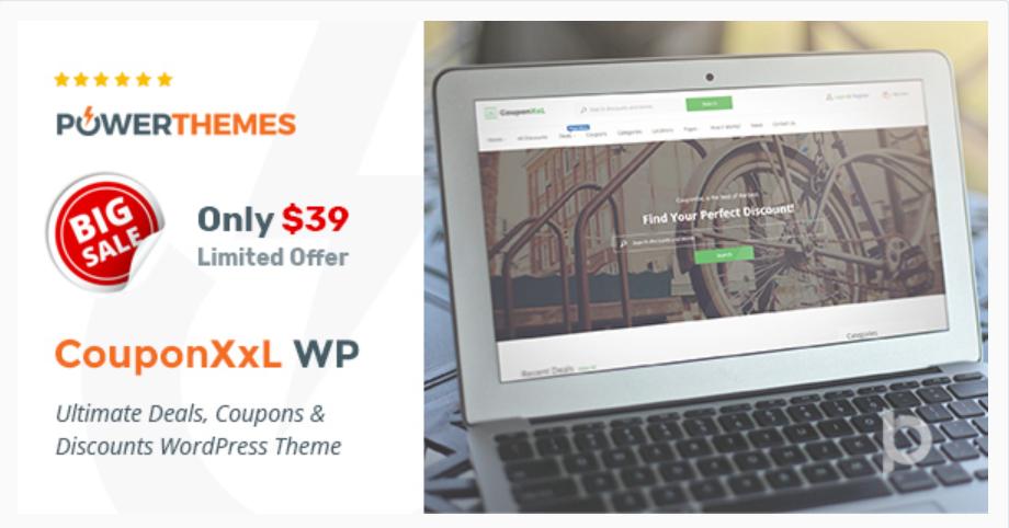 Coupon XxL WordPress Theme