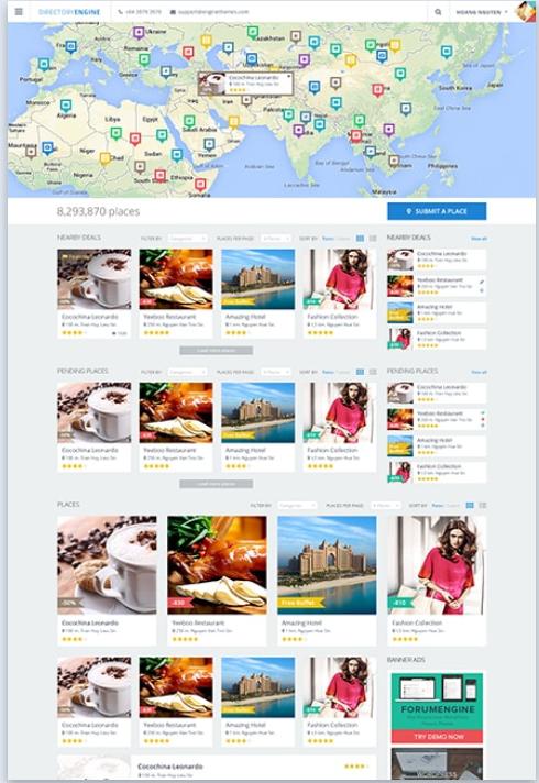 DirectoryEngine WordPress theme