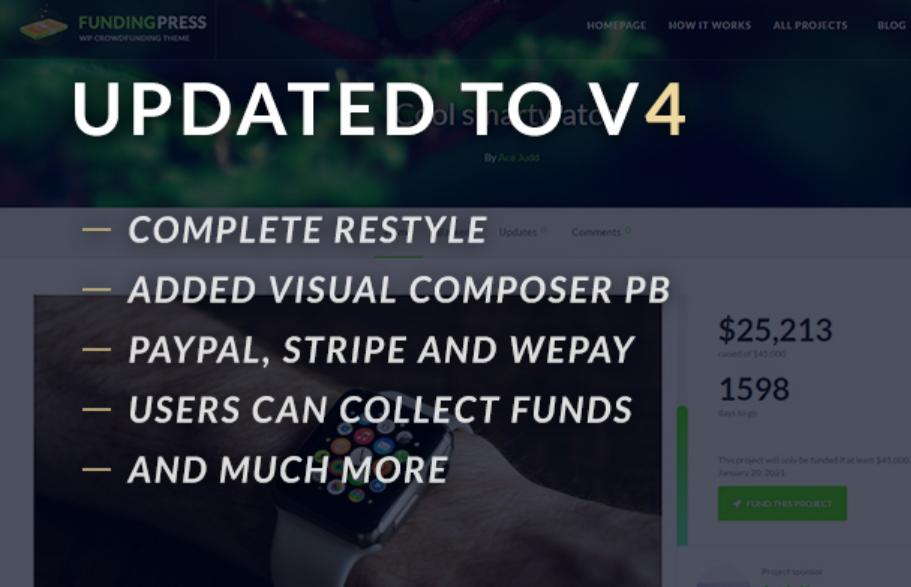 FundPress WordPress theme