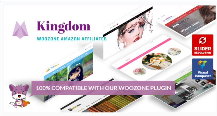 Kingdom WordPress Theme
