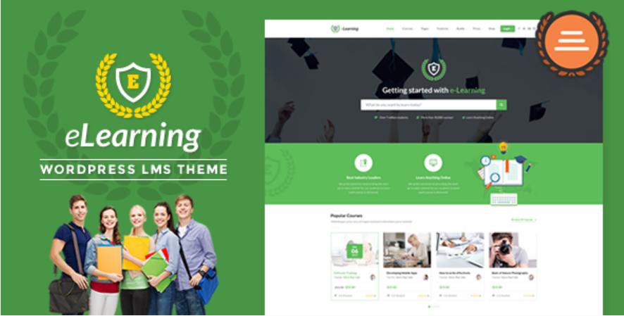 LMS WordPress Theme