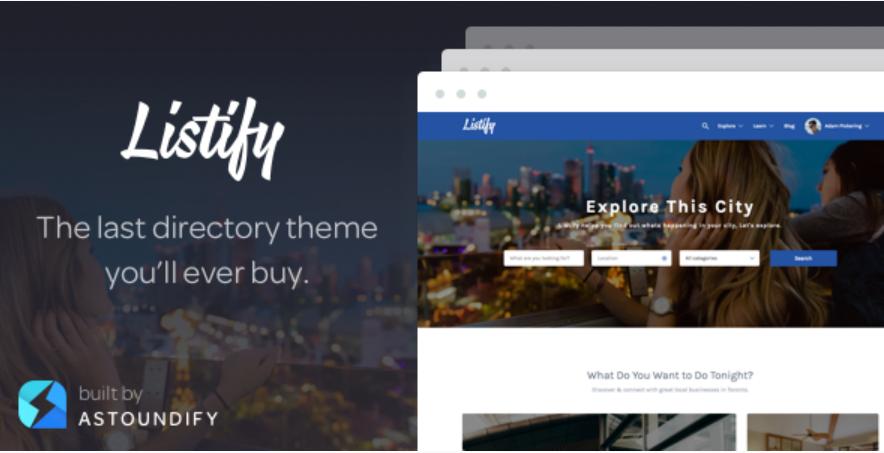 Listify WordPress Theme