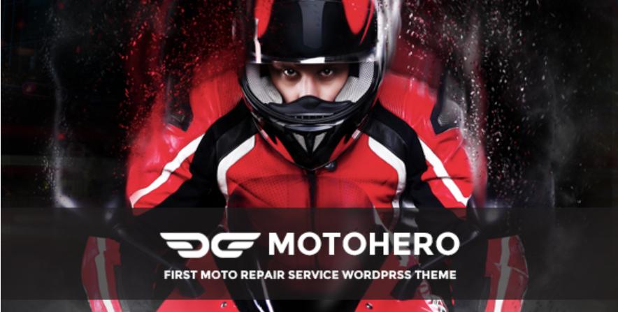Motohero WordPress theme
