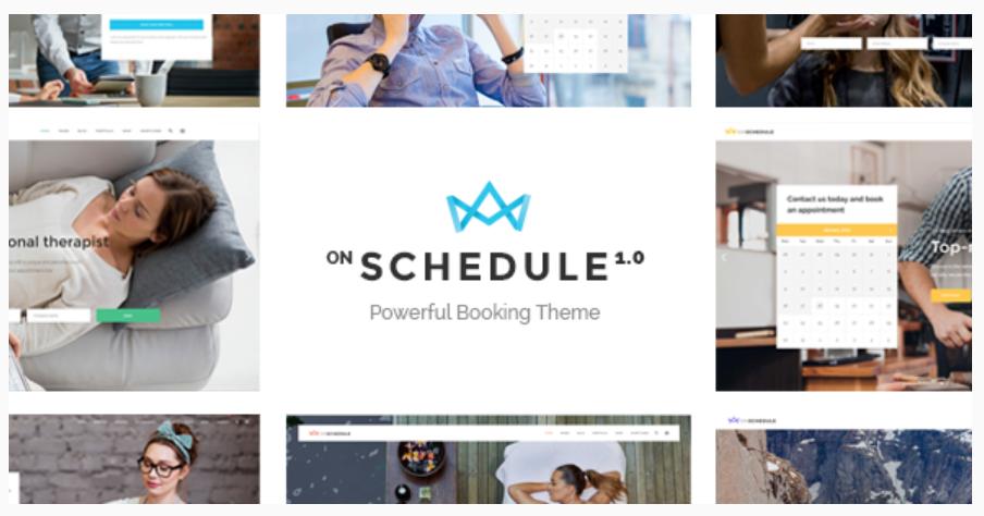 OnSchedule WordPress Theme