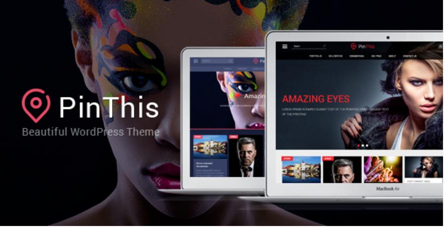 PinThis WordPress Theme