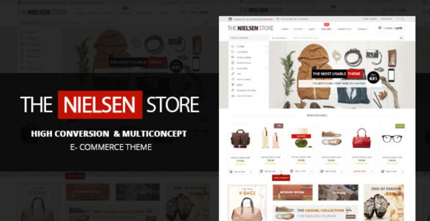 Nielsen WordPress theme