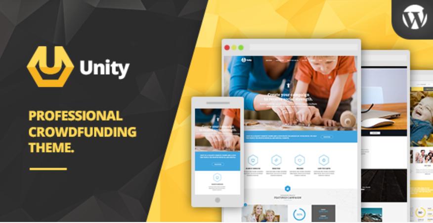 Unity WordPress Theme